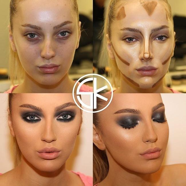 Человек который делает макияж это