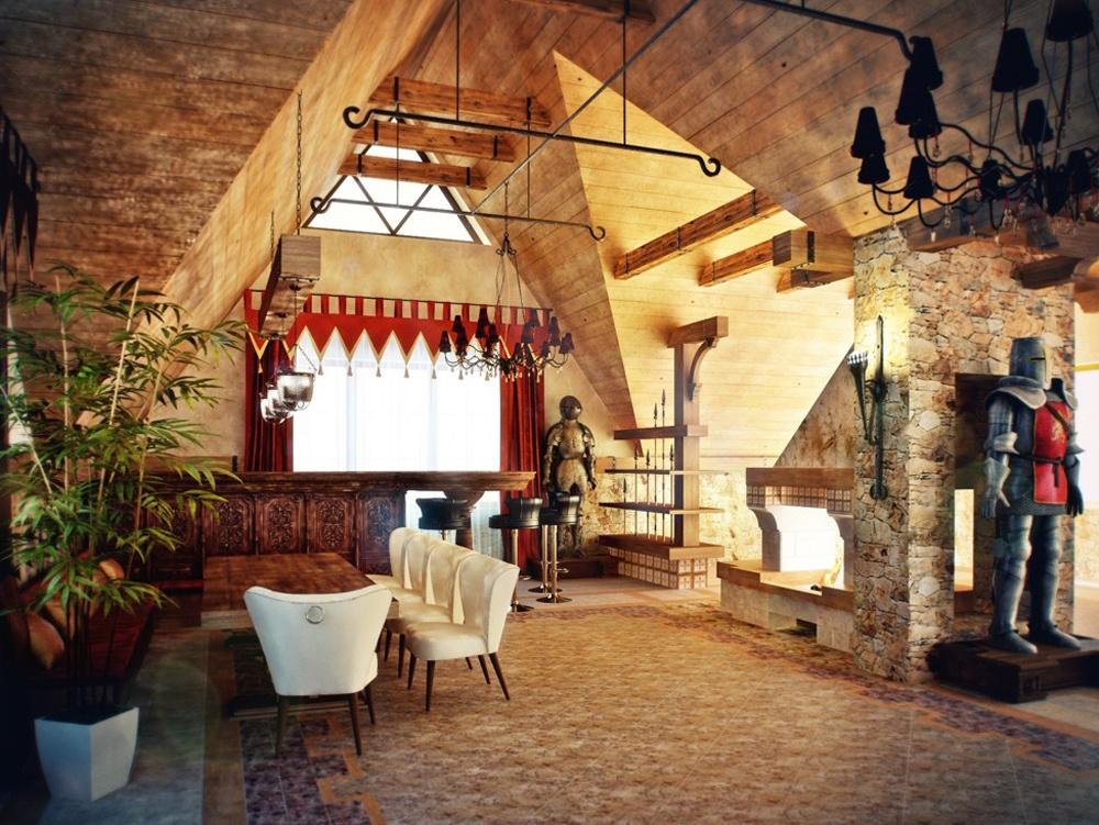 Фото средневековый интерьер