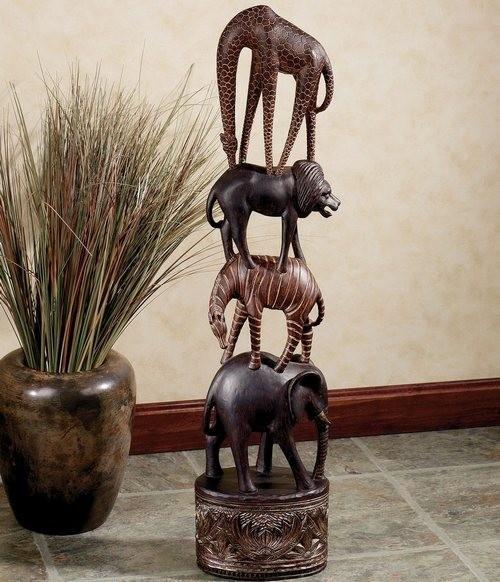 Декоративные статуэтки для интерьера фото