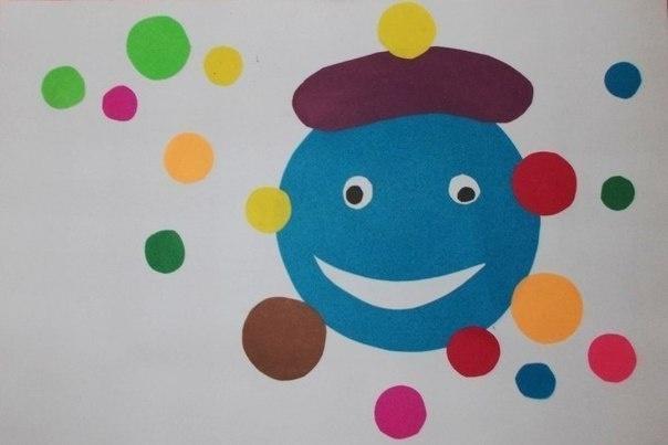 Поделки с-детьми-с-цветной-бумаги