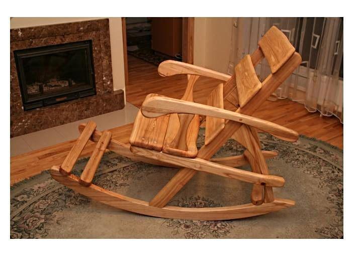 Самодельные кресло качалки фото