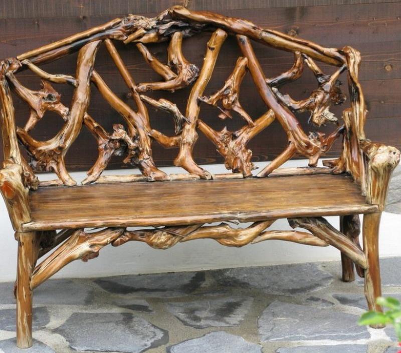 Декоративные садовая мебель своими руками