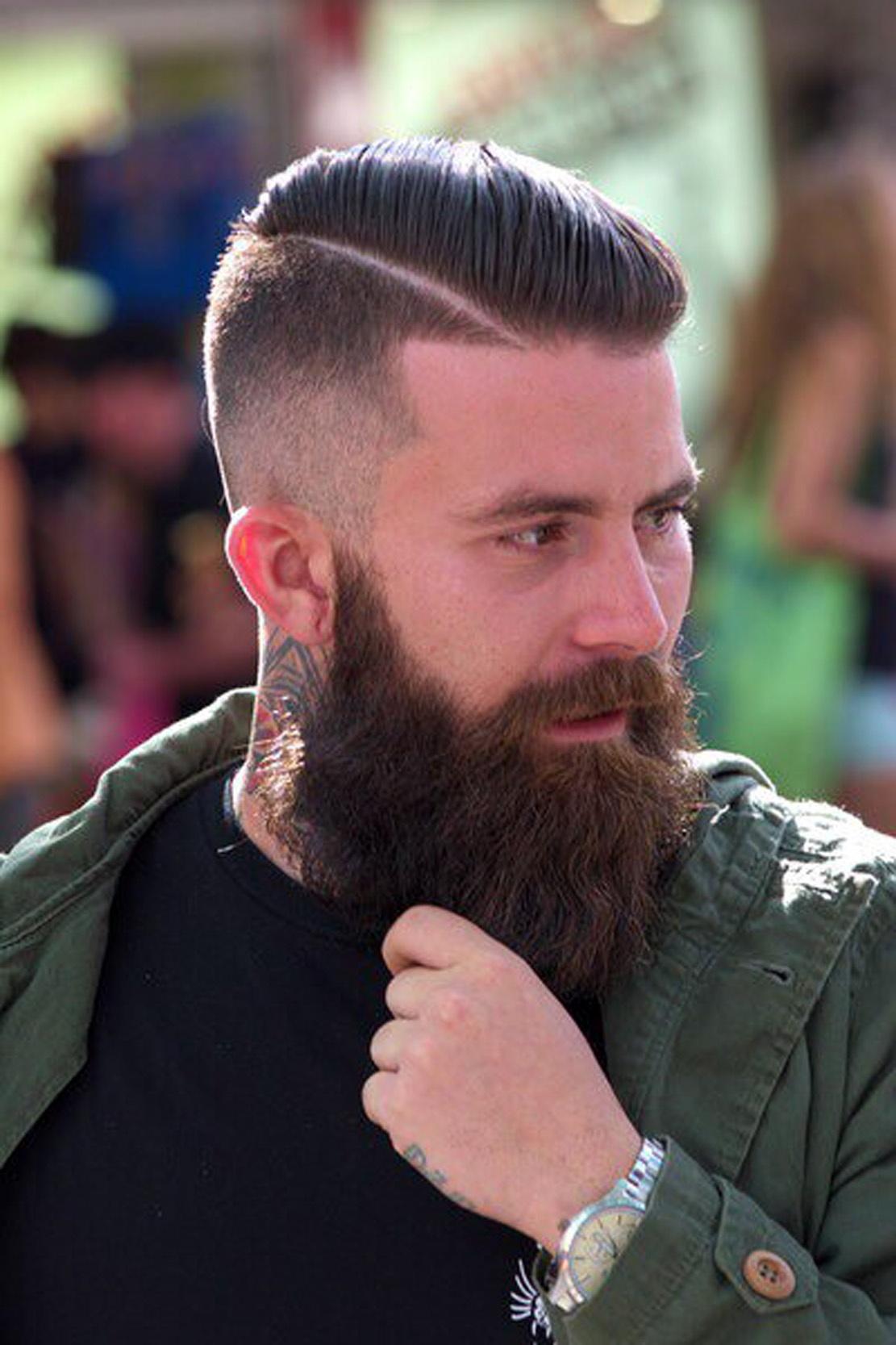 Борода стрижка