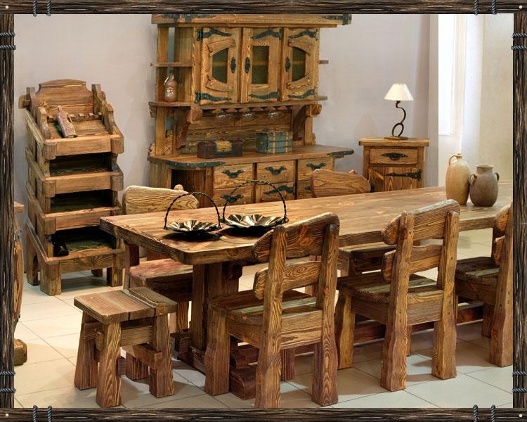 Мебель из сосны под старину своими руками