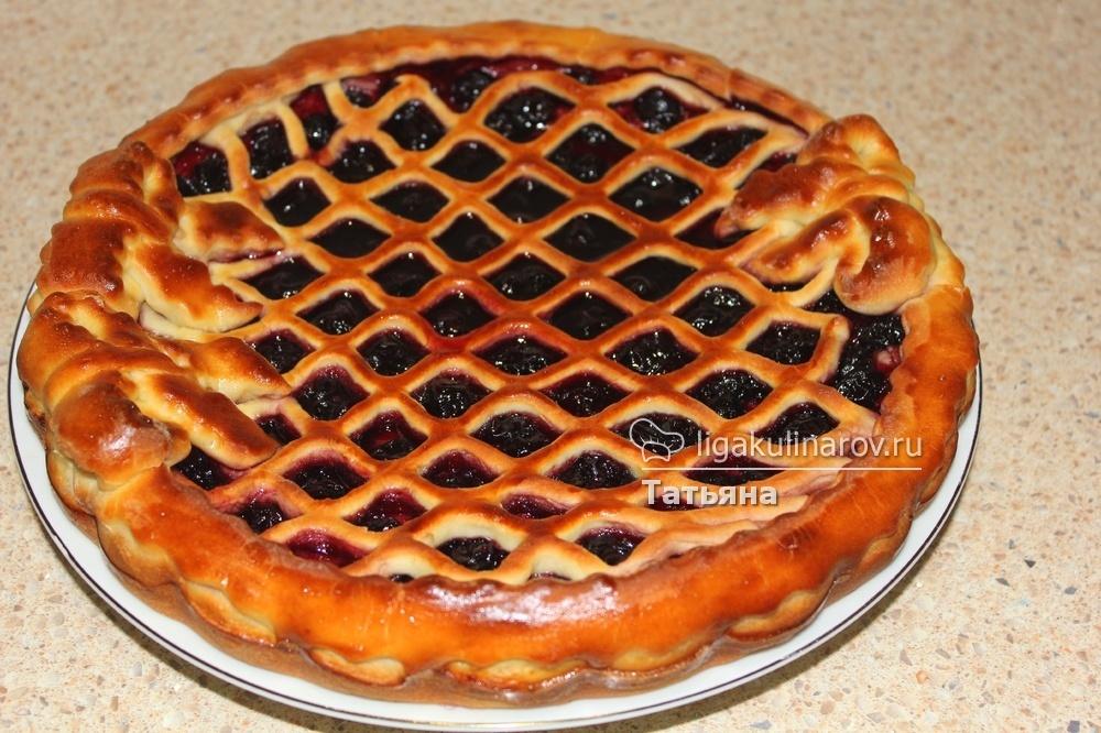 Рецепт пирога с вареньем в духовке пошагово с кефиром