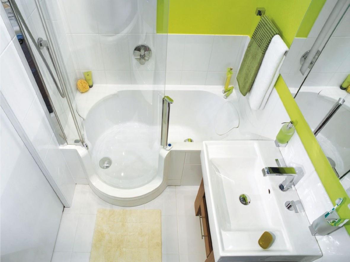 Дизайн не совмещенной маленькой ванной