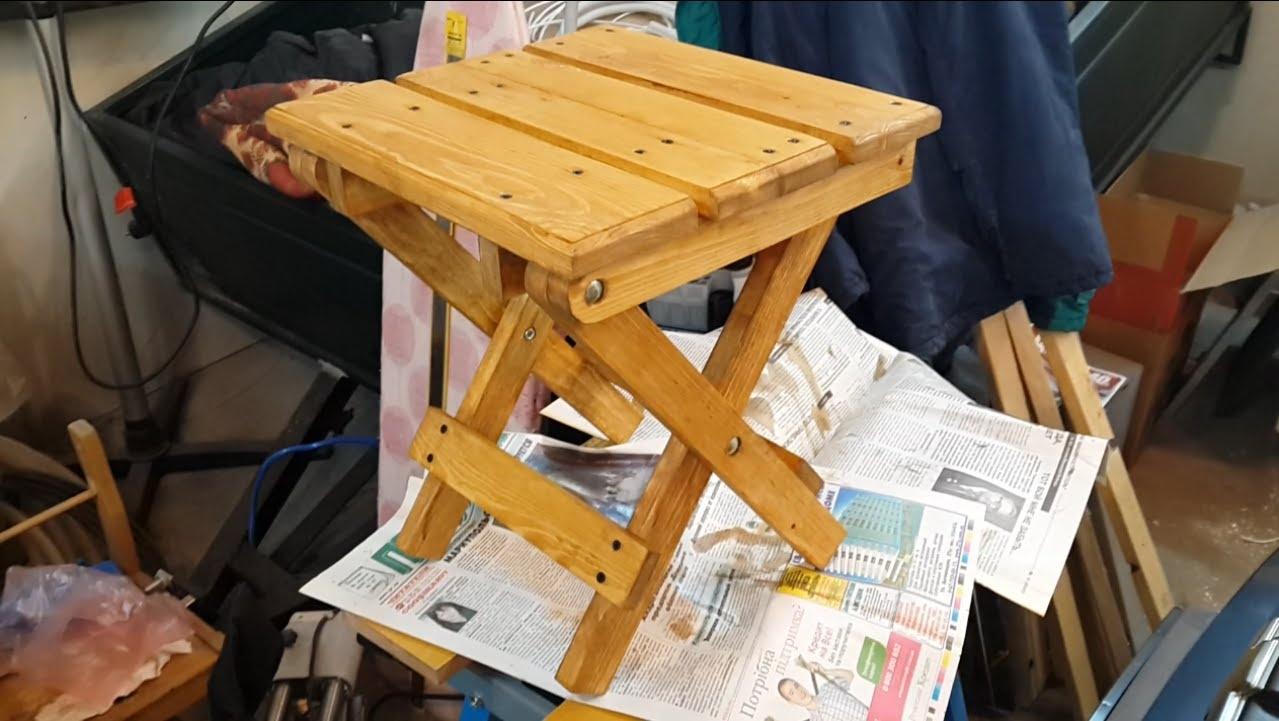 Строительный стул своими руками