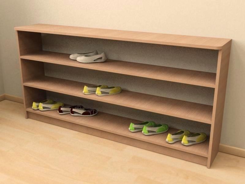 Как сделать полку из дсп для обуви