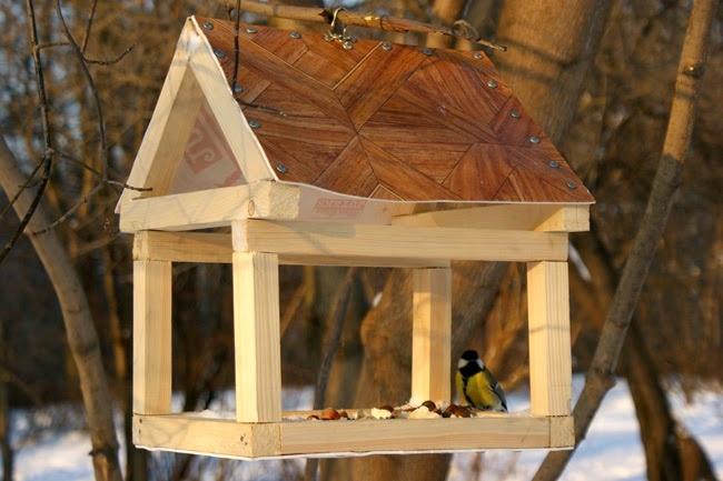 Мастер класс по изготовлению кормушек для птиц своими руками