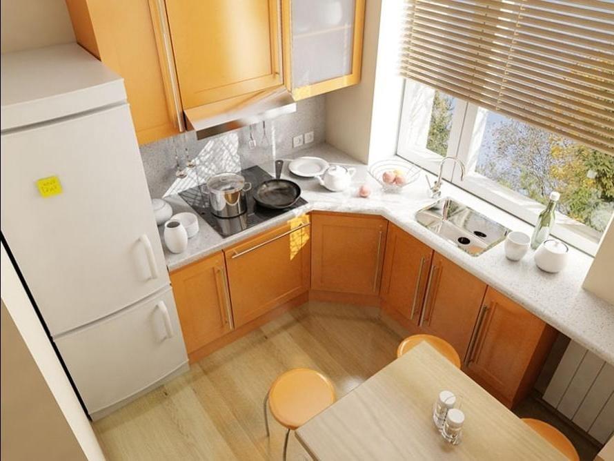 Дизайн маленькой кухни 7 м