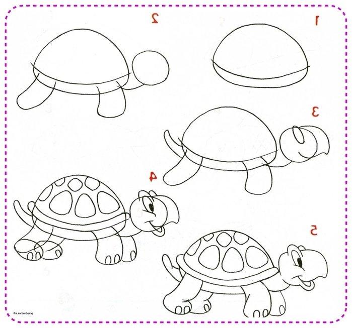 Картинки для поэтапного рисования для детей