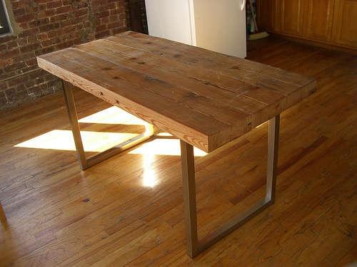 Столешница деревянная для стола своими руками