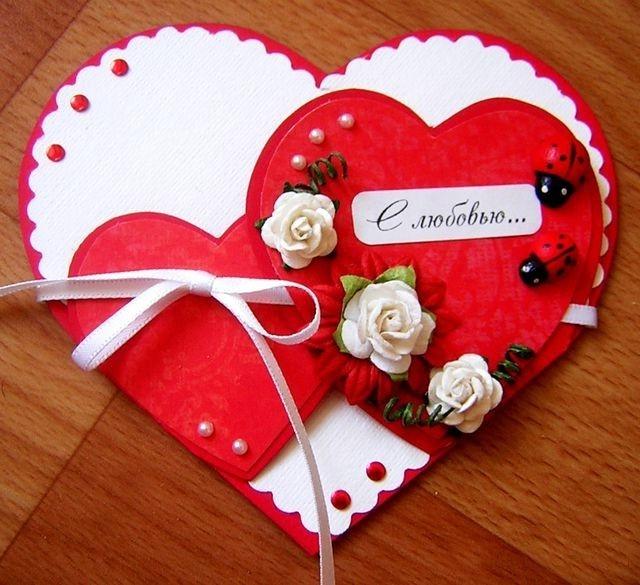 Как сделать своими руками валентинки на 14 февраля