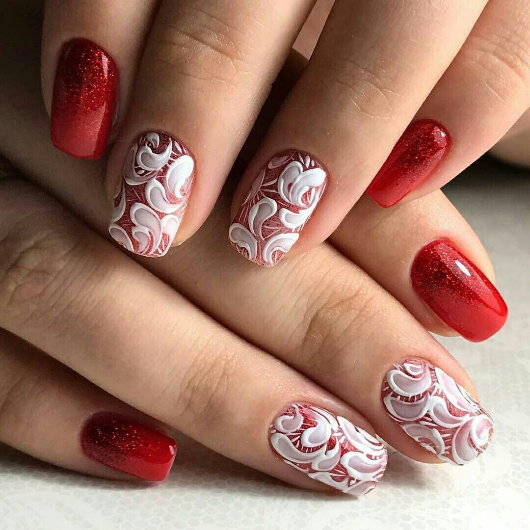 Красивые ногтей 2017 г