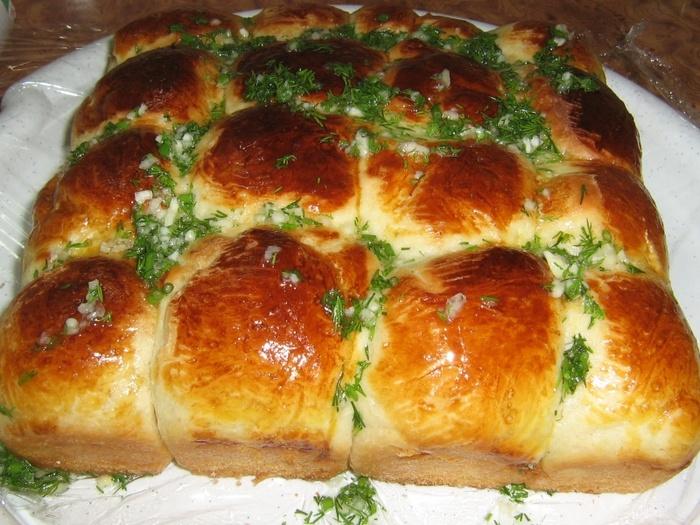 Пампушки с чесноком рецепт с фото пошагово на сковороде