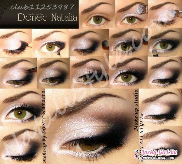 Делаем красивый макияж фото
