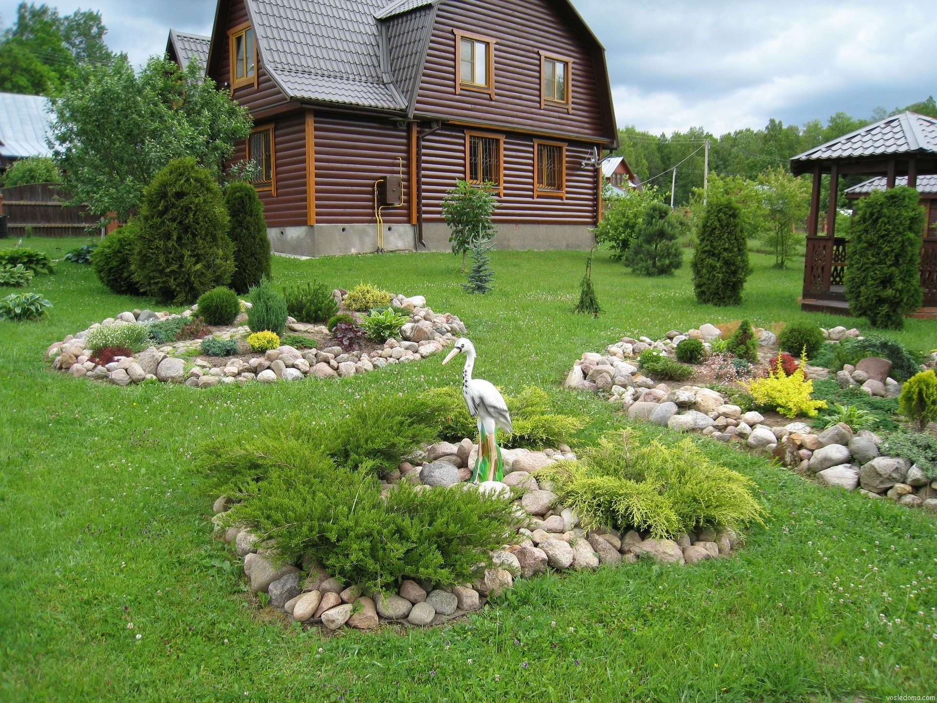 Фото красивых садовых участков своими руками