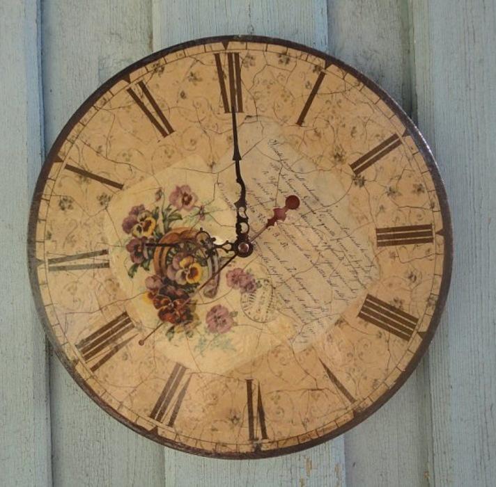 Часы сделанные мастер класс