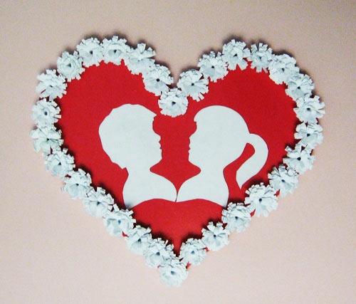 Сердце своими руками на 14 февраля
