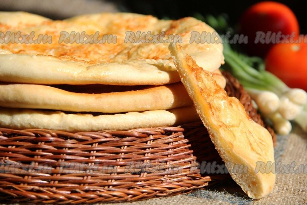 Хачапури с сыром из дрожжевого