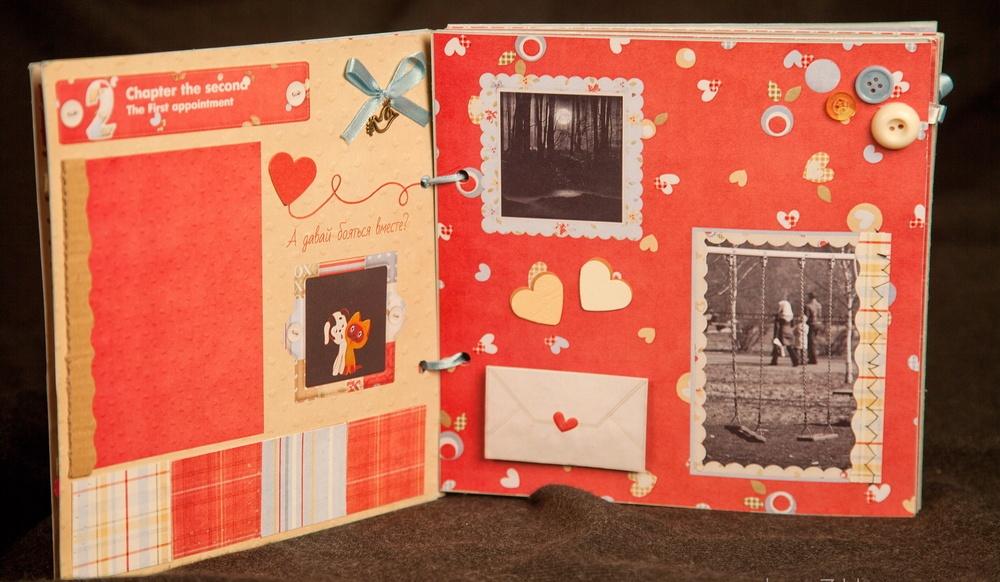 Фотоальбом для влюбленных своими руками