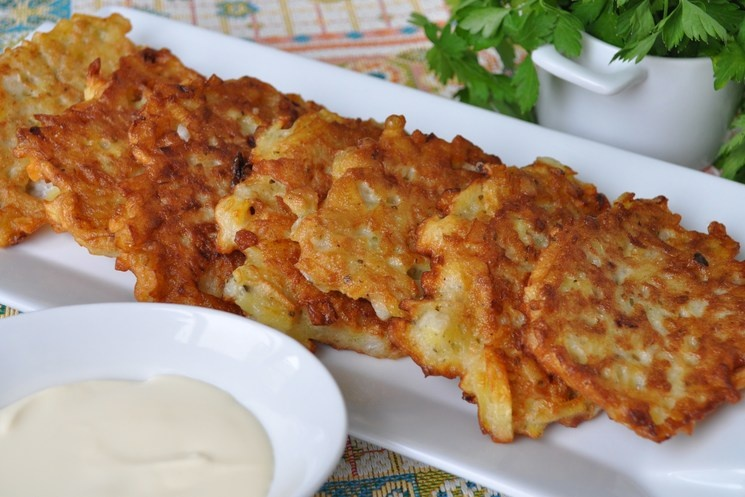 Оладья из картошки пошаговый рецепт с