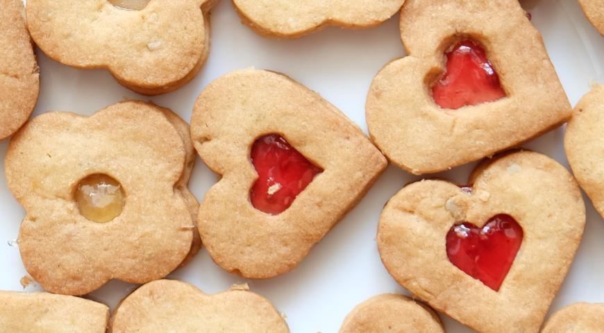 Печенье с джемом пошаговый рецепт с