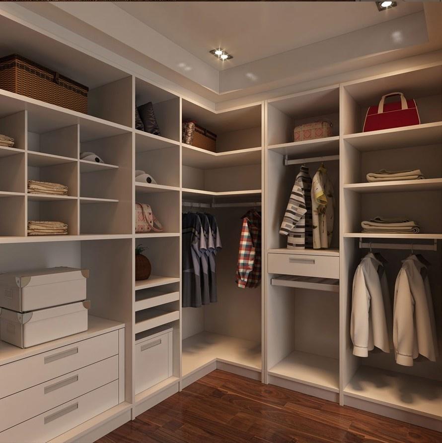 Дизайн угловых гардеробных