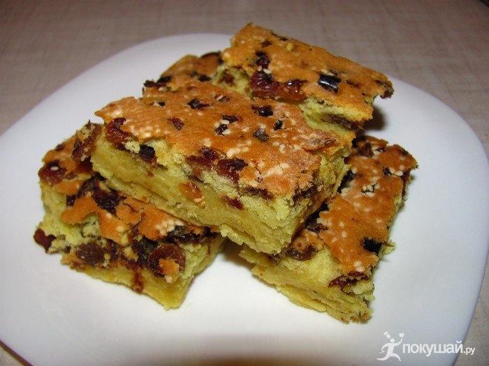 Простой бисквит с изюмом рецепт пошагово
