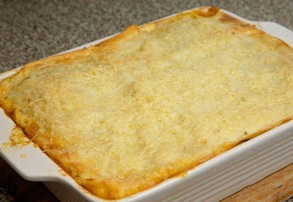 Рецепт лазаньи с фаршем и готовыми листами