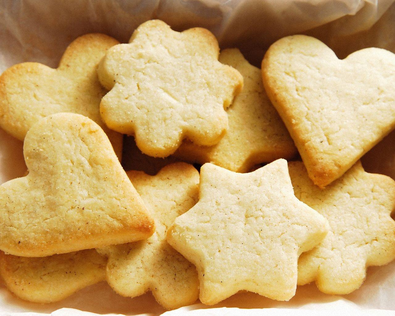 Печенье и мягкий творог