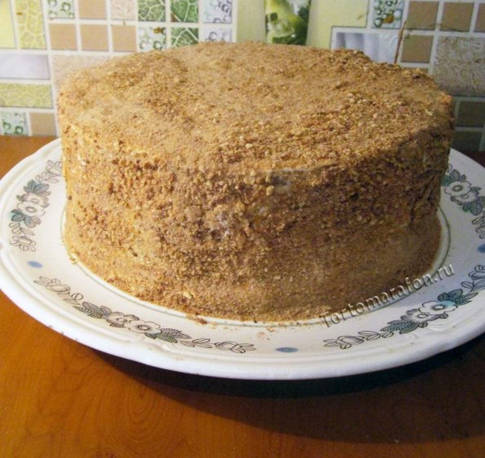 Рецепт торт медовик с фото пошагово