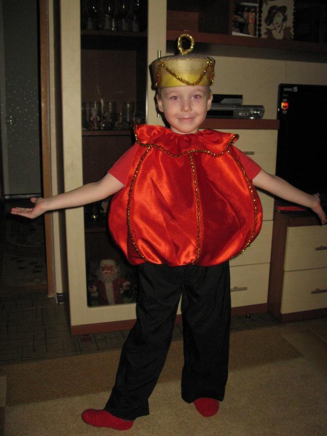 Новогодний костюм ребенку как сделать