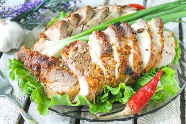 Буженина из свинины в духовке в фольге пошаговый рецепт с