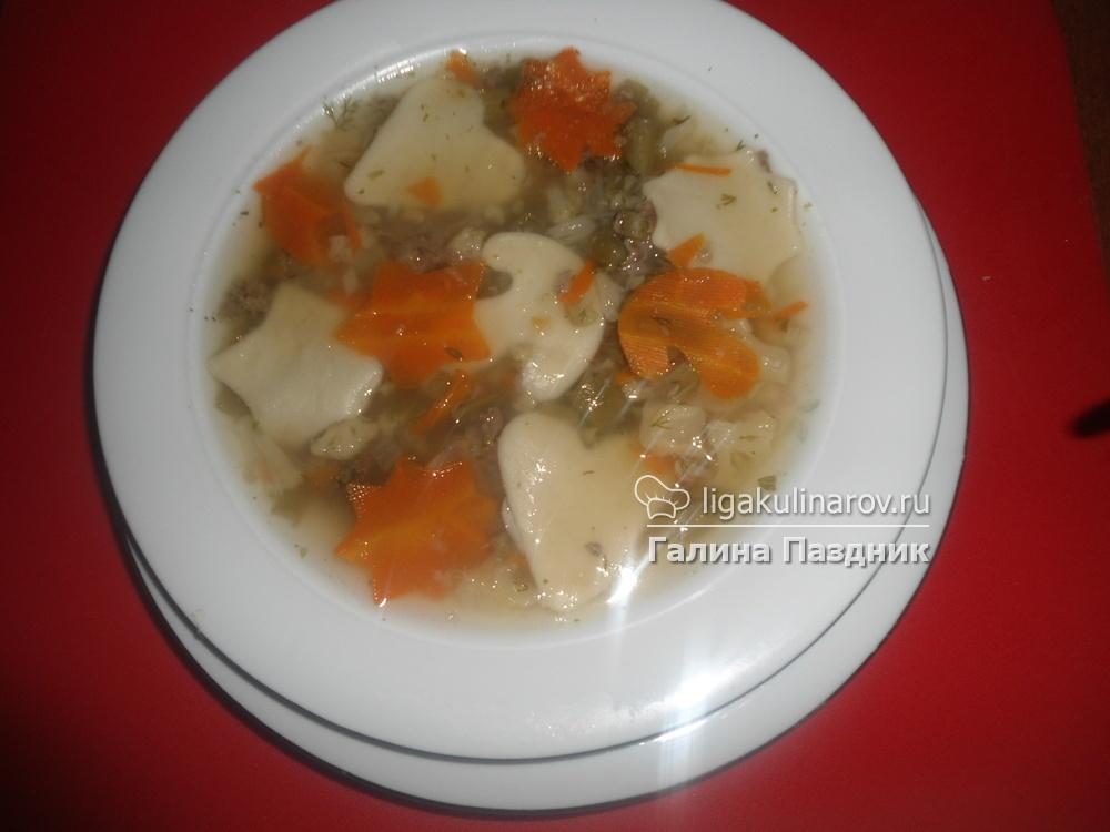 Суп с клецками с говядиной пошаговый рецепт с фото