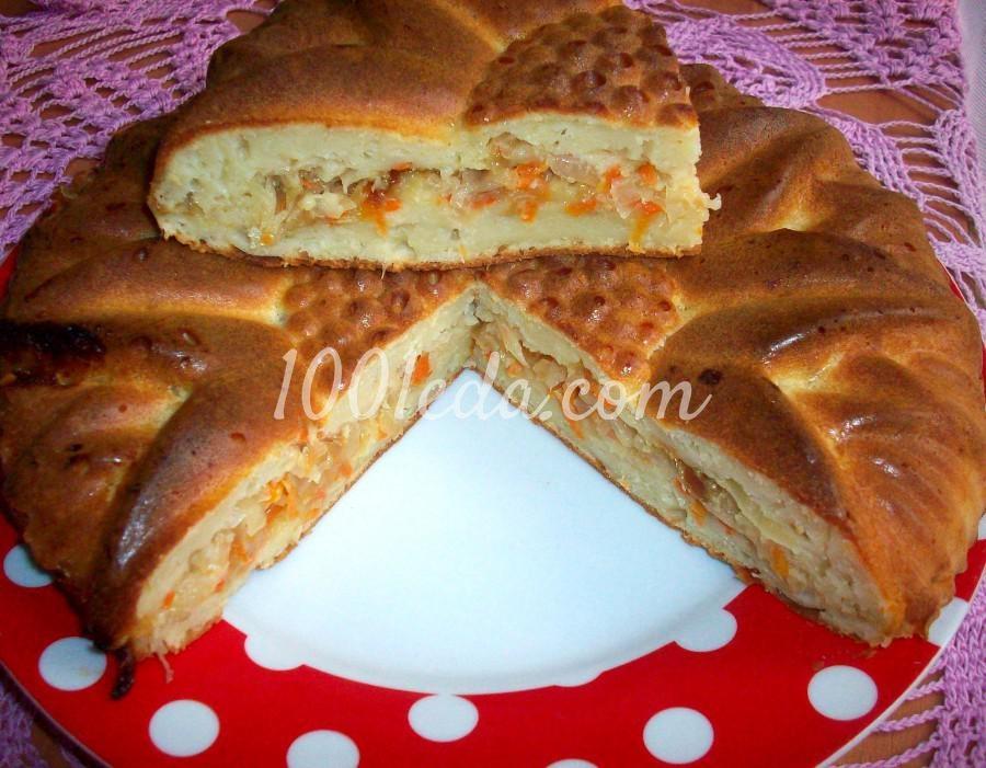 Пирог на кефире пошаговый рецепт с фото