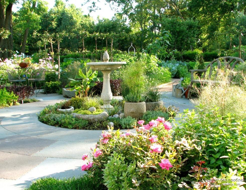 Фото интерьер сада