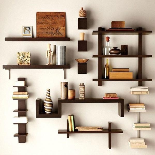 Идеи для полок на стену