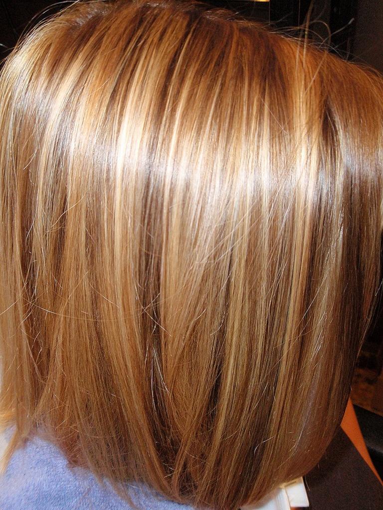 Окрашивание волос цвет карамель
