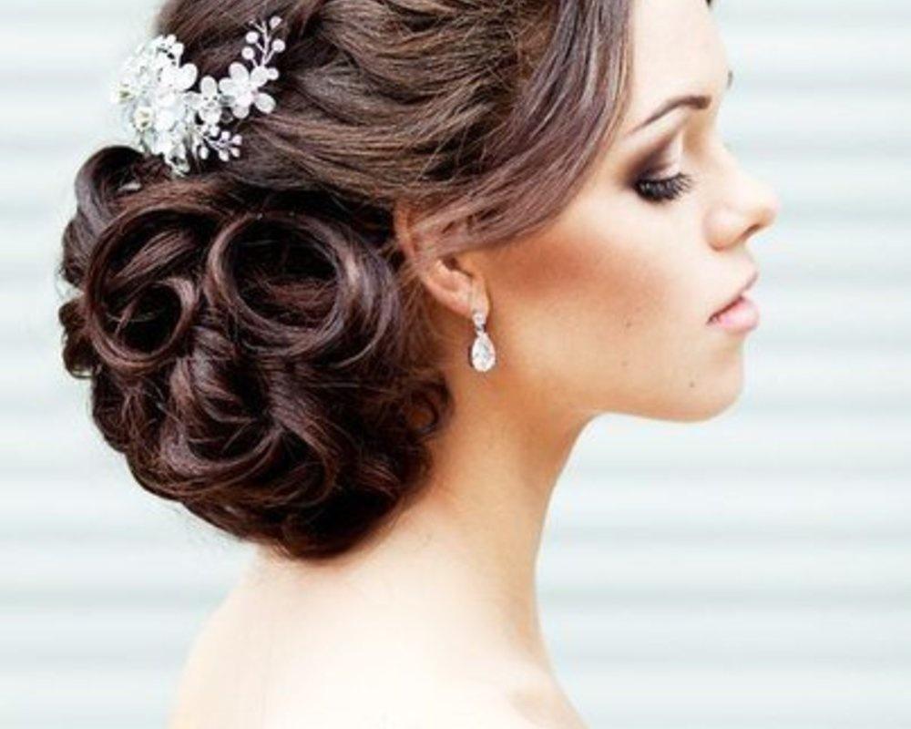красивые прически на длинные волосы собранные