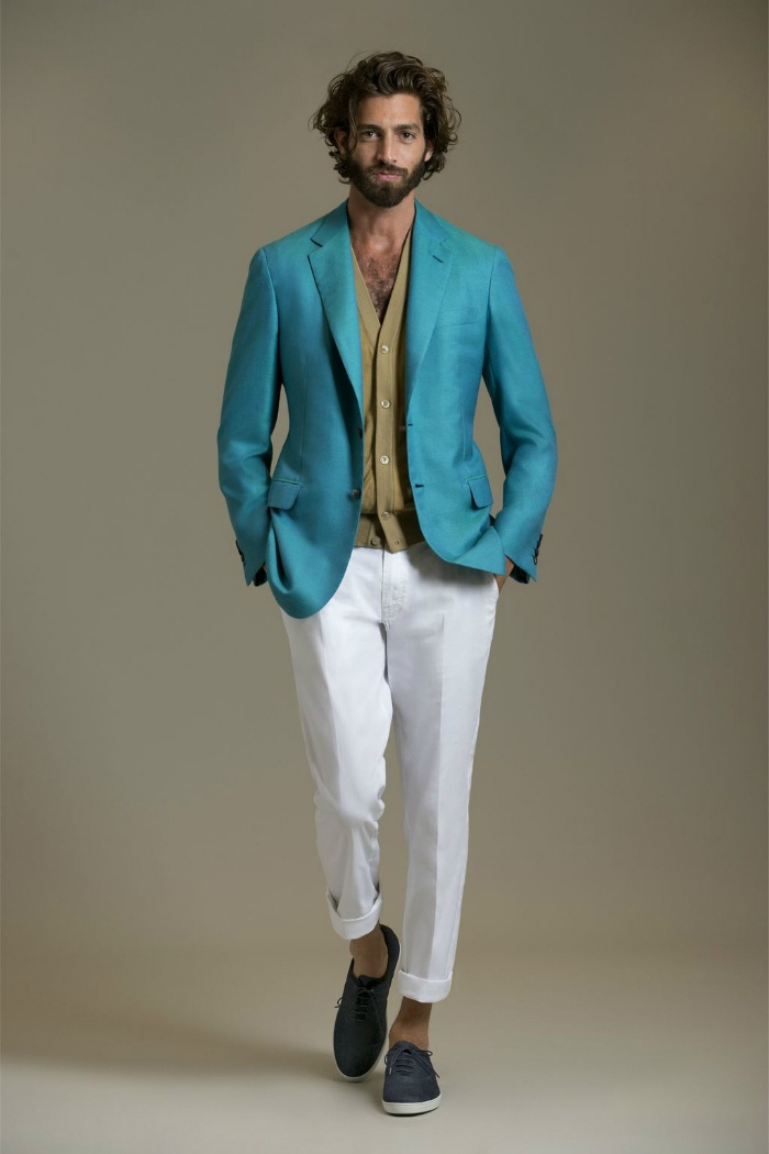 Модные костюмы с брюками мужские