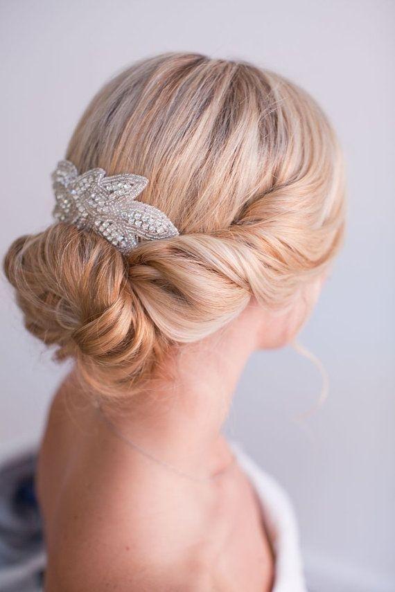 Фото свадебных причесок собрать волосы внизу