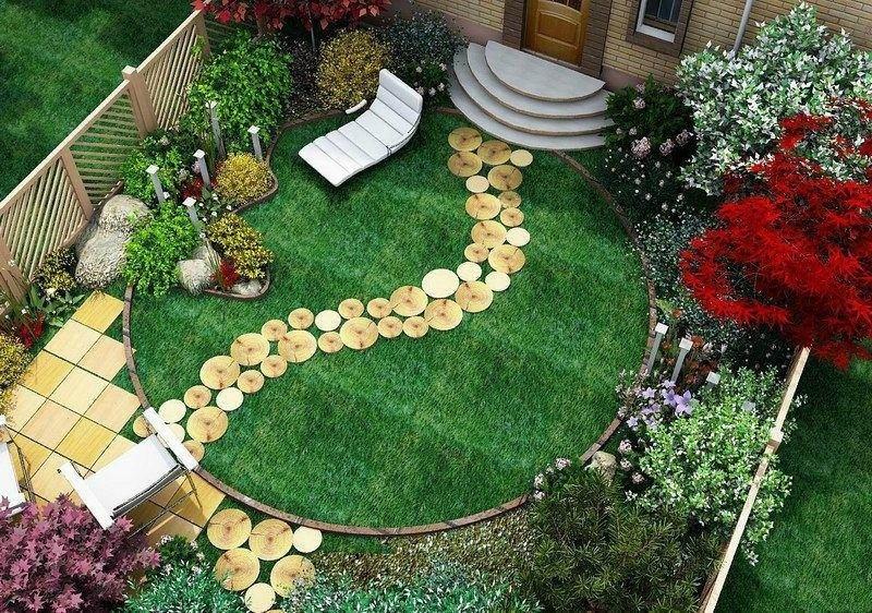 Яркий и красочный ландшафтный дизайн сада - карточка от пользователя sergey.kuznetsov01 в Яндекс.Коллекциях
