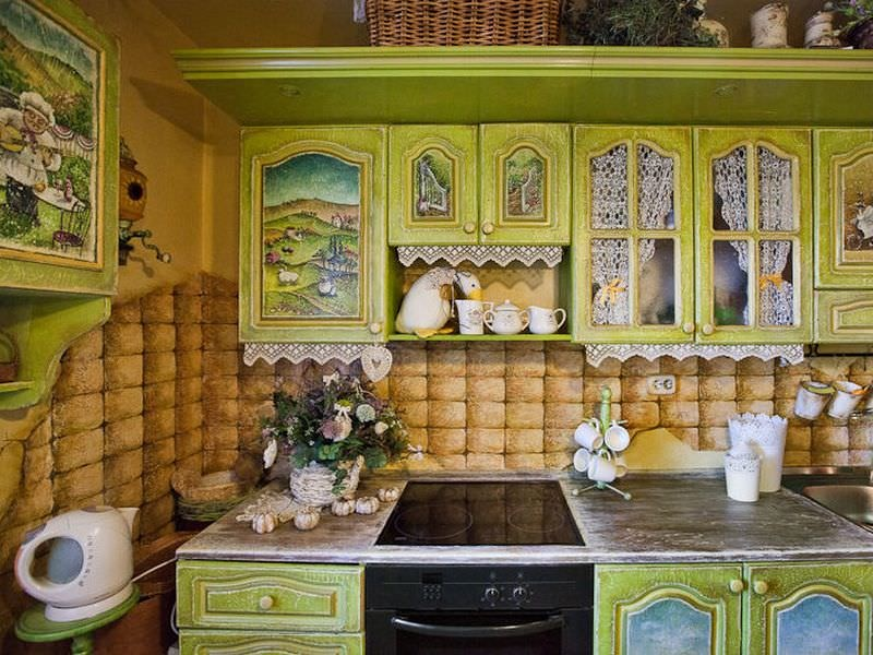 Старой кухни своими руками