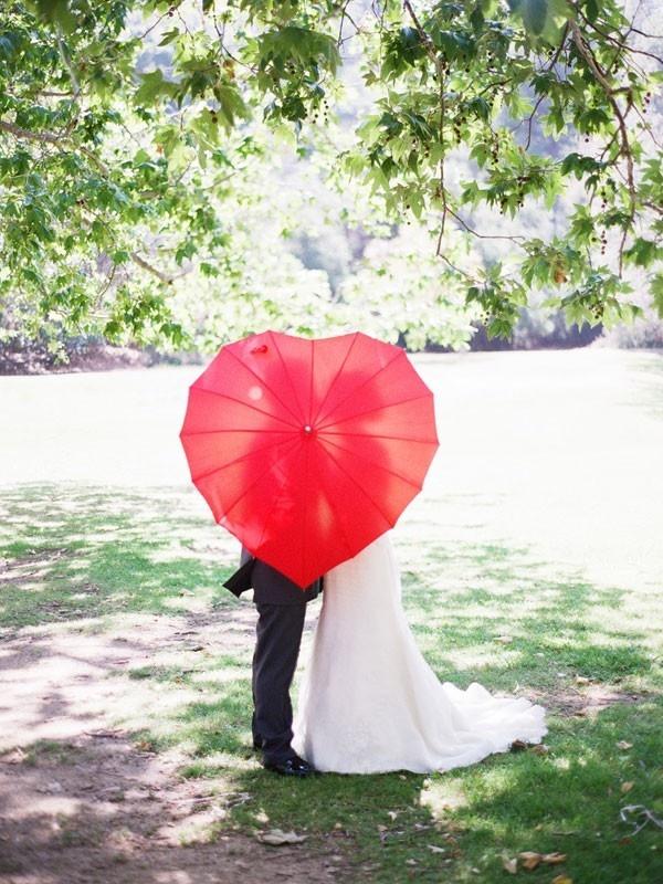 Как сделать зонт для свадьбы