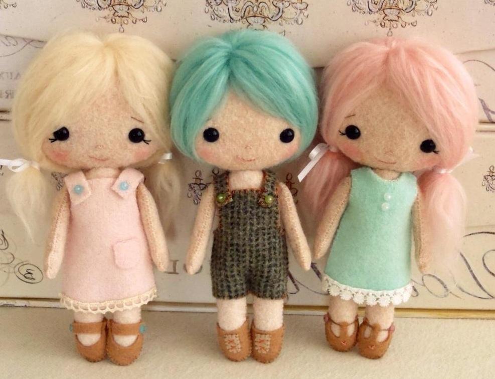 Мягкая игрушка своими руками кукла