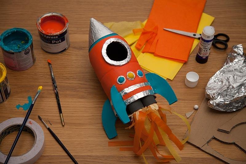 Лёгкая ракета своими руками