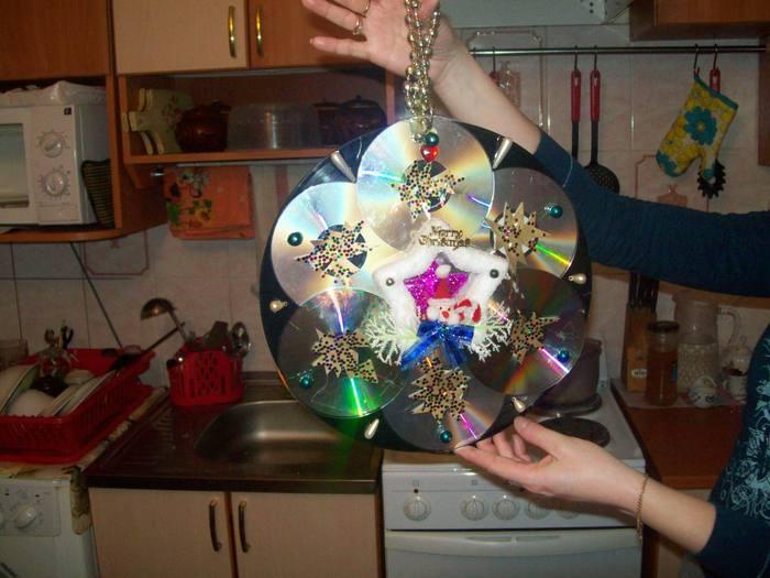 Новогодние поделки игрушка своими руками