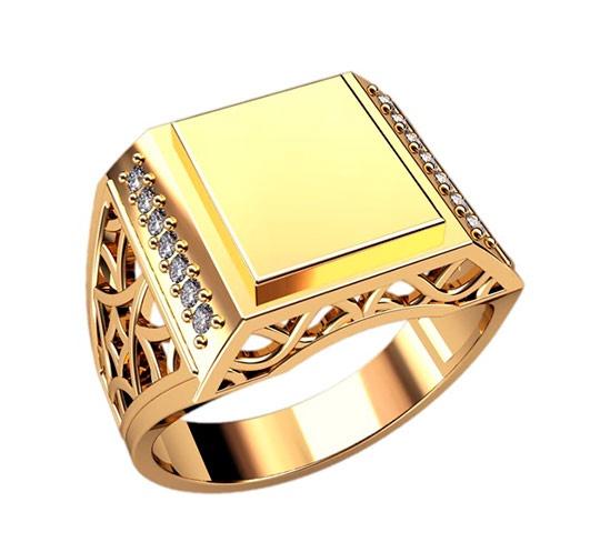 В данном разделе ювелирного каталога представлены золотые кольца, перстни, печатки, венчальные кольца