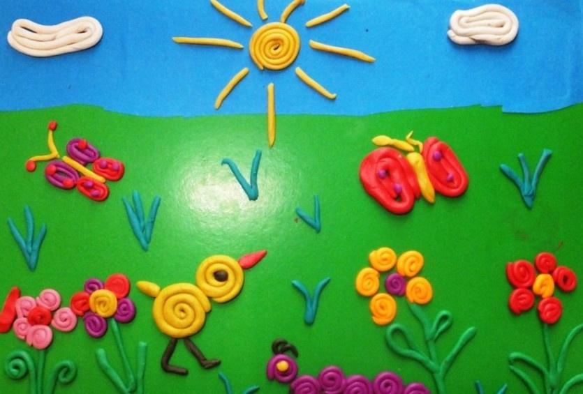 Поделки из пластилина для детей 3-4 лет фото легкие в приготовлении